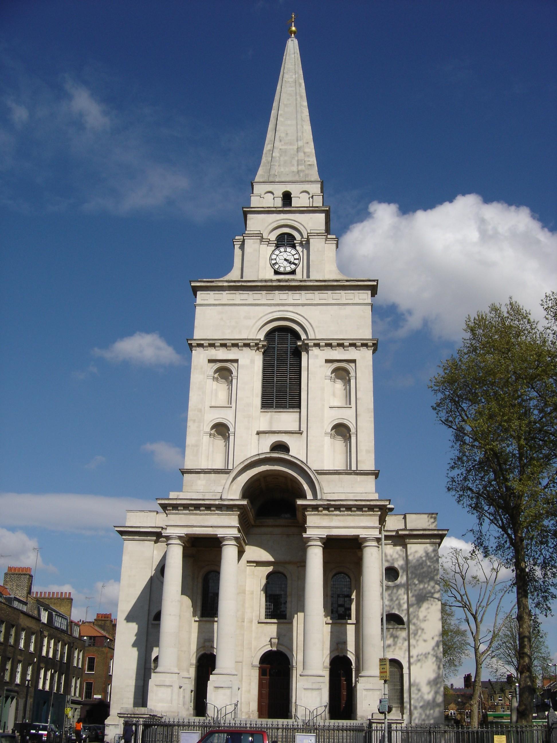 Spitalfields London: Spitalfields, Christ Church